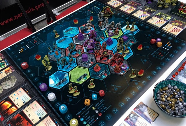 Uprising board game @BerlinCon 2019